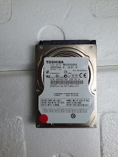 Jual Hardisk TOSHIBA 250GB Bekas
