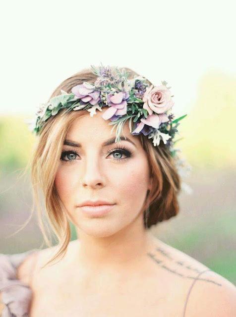 Modelo de corona de flores hoy bella consejos de - Modelos de coronas ...