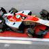GP3 Series · Leonardo Pulcini marca el mejor tiempo.