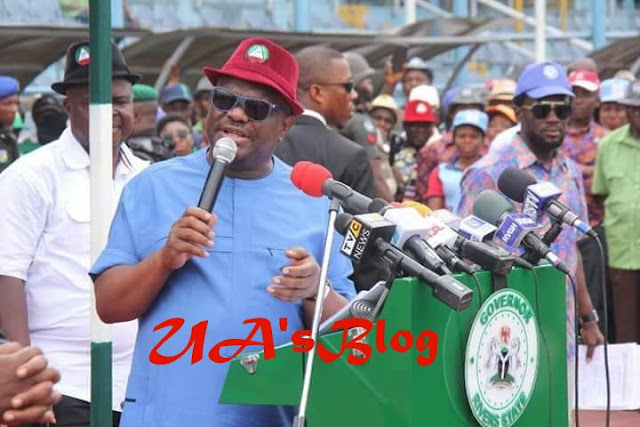 A lion can never dance to the rhythm of a cobra unless that lion wasn't born in the jungle; I WILL NEVER TAKE YOUR SUPPORT FOR GRANTED GOVERNOR WIKE SAYS IN TEARS