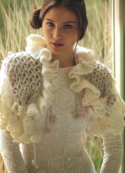 Capa Romantica Crochet Patron