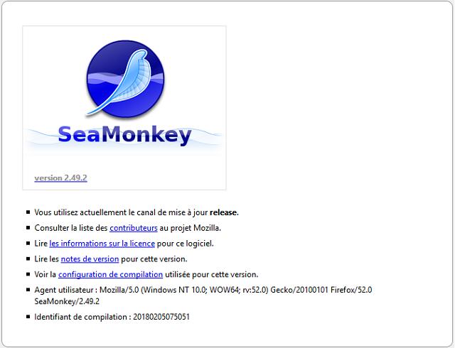 تحميل متصفح مواقع الويب SeaMonkey للويندوز