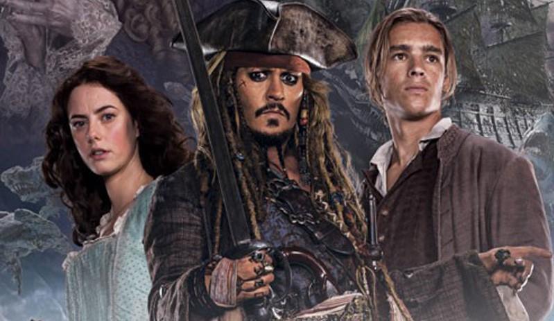 """Cap. Jack Sparrow & cia nos pôsteres inéditos de """"Piratas do Caribe 5"""""""