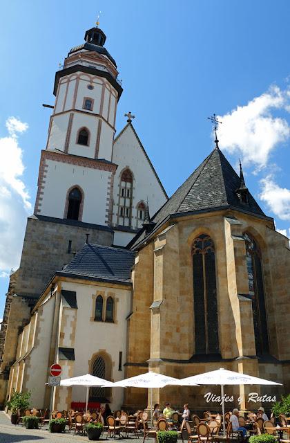 Thomaskirche, Iglesia de Santo Tomás, Leipzig