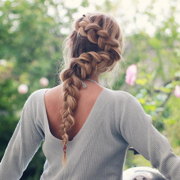 15 chic braided hairstyles for long hair bling sparkle