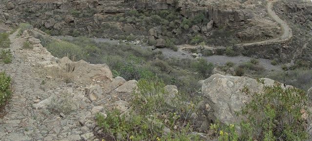 Mar a Cumbre - Barranco de Polegre - Camino Real del Sur - PR-TF-86 - Tenerife - Islas Canarias