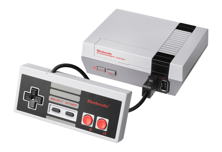 NES Classic Edition Nintendo Entertainment System And Controller