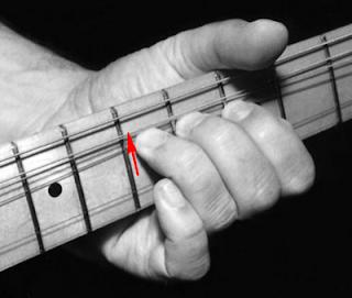 Bending guitar