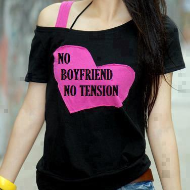 No Boyfriend No Tension Real Quote Pic My Fb Images
