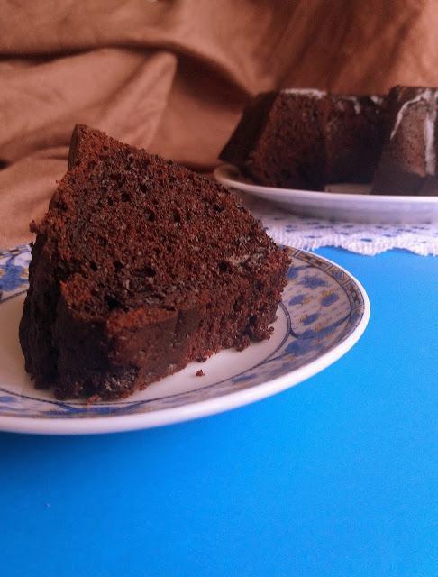 Babka diabelska / Devil's Food Bundt Cake