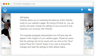 inframe ads for blogger