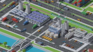 SimplePoly Urban Low Poly City Assets