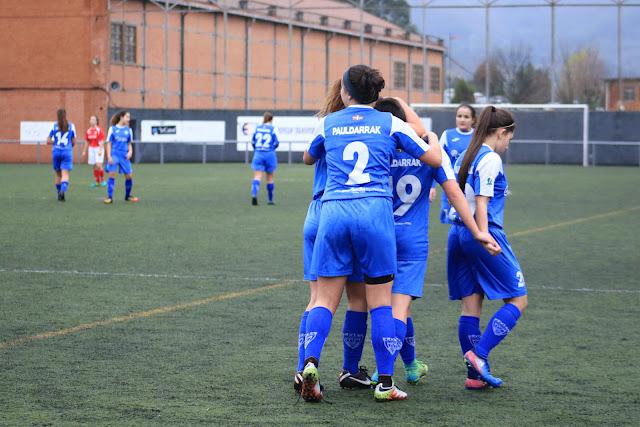 equipo de fútbol femenino Pauldarrak de Barakaldo
