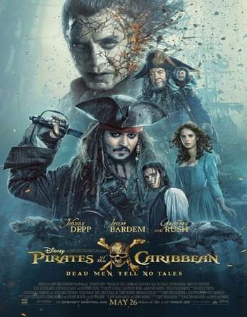 Pirates of the Caribbean Dead Men Tell No Tales 2017 Hindi Dual Audio Web-DL Full Movie Download