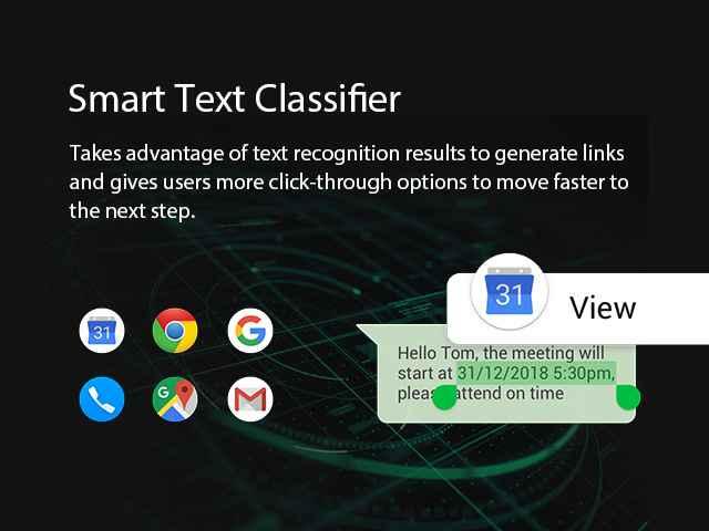 Smart text classifier