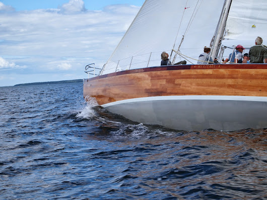 12 Meter Charters - Sailing in Newport, RI: Heritage Wins When Charley Morgan Comes Sailing in Newport Again