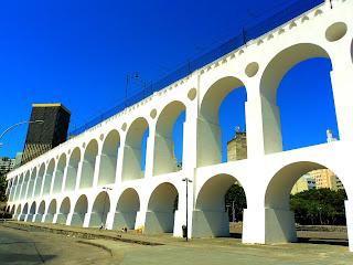 Os Famosos Arcos da Lapa - Rio de Janeiro