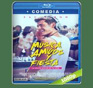 Musica, Amigos y Fiesta (2015) Full HD BRRip 1080p Audio Dual Latino/Ingles 5.1