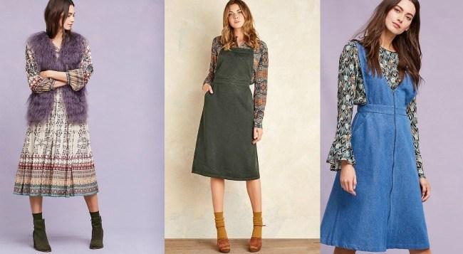 6 Autumn dresses