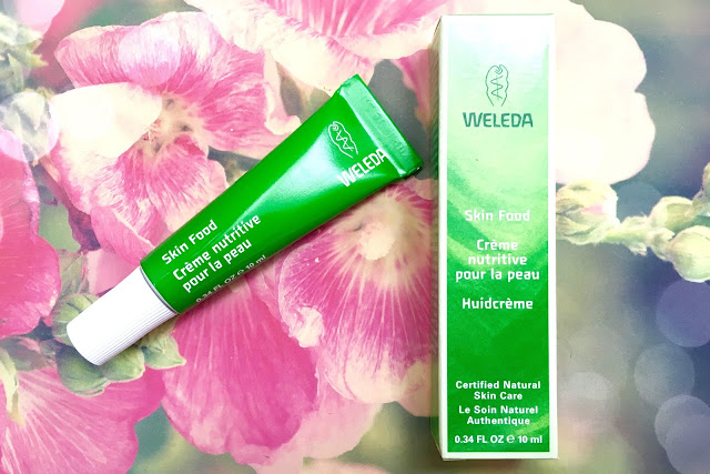 Weleda Skincare Products skin food moisturiser cute pink and green natural organic