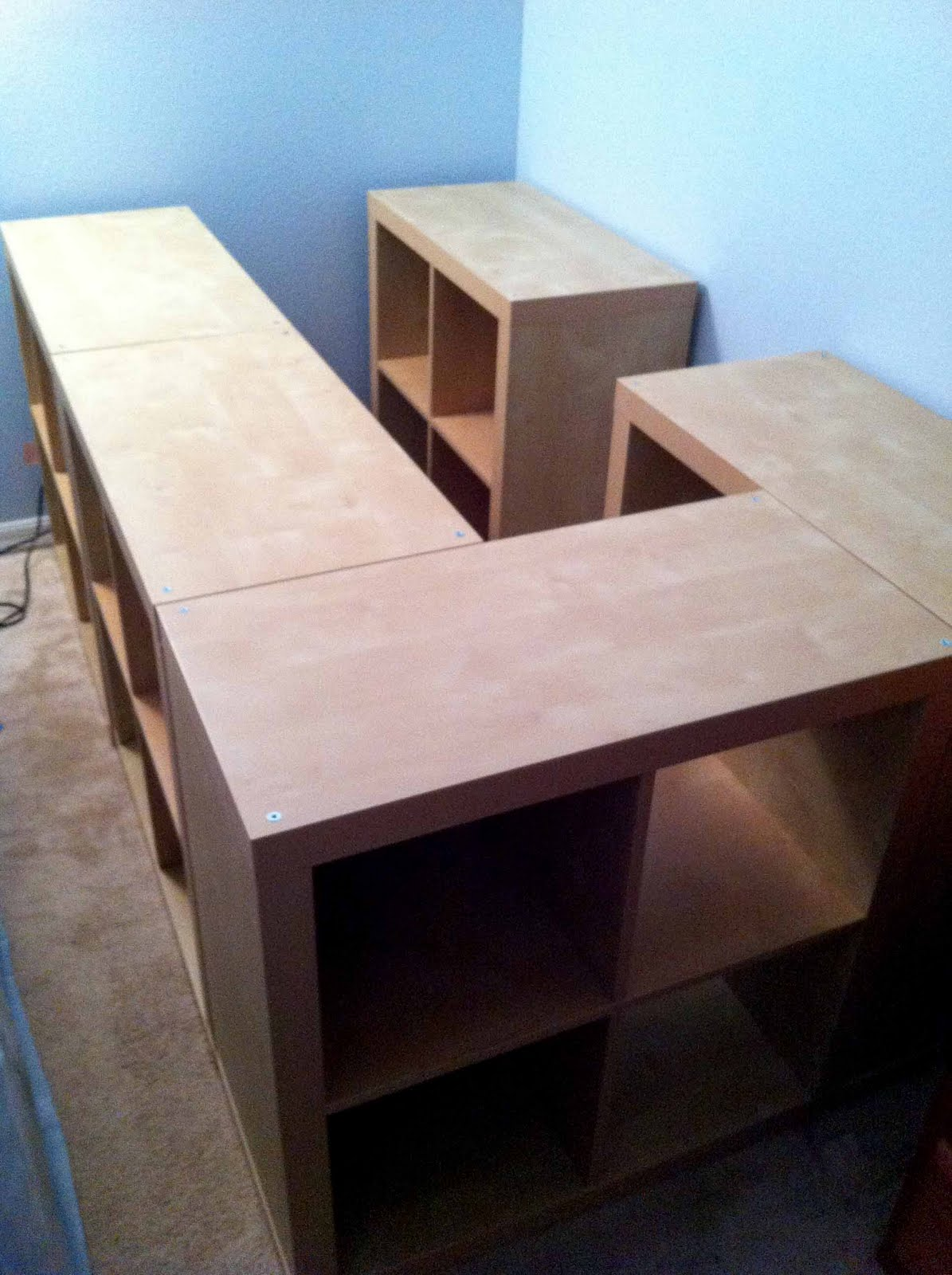 Expedit storage bed ~ Get Home Decorating