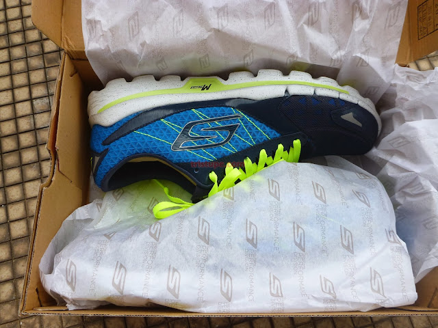Skechers Synthetic Memory Foam Ladies Running Shoes