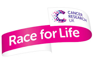 It's official.  I'm running* the Race For Life!