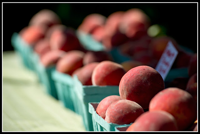 Northside Farmers Market; Peaches