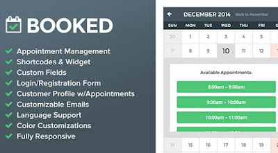Booked v2.0.4 Appintment Booking Wordpress Plugin