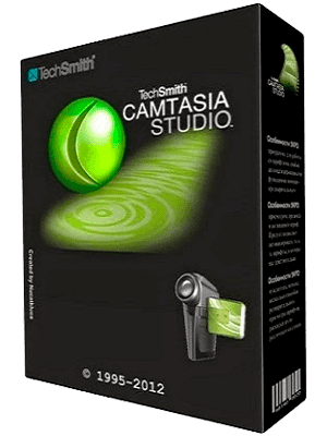 TechSmith Camtasia Studio Box Imagen