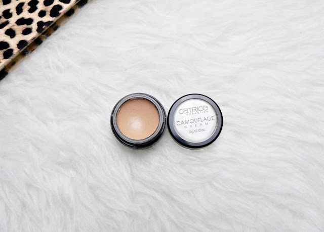 Catrice camouflage cream 020 light beige review swatches
