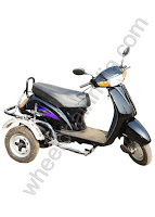 Side Wheel Attachment Activa Black
