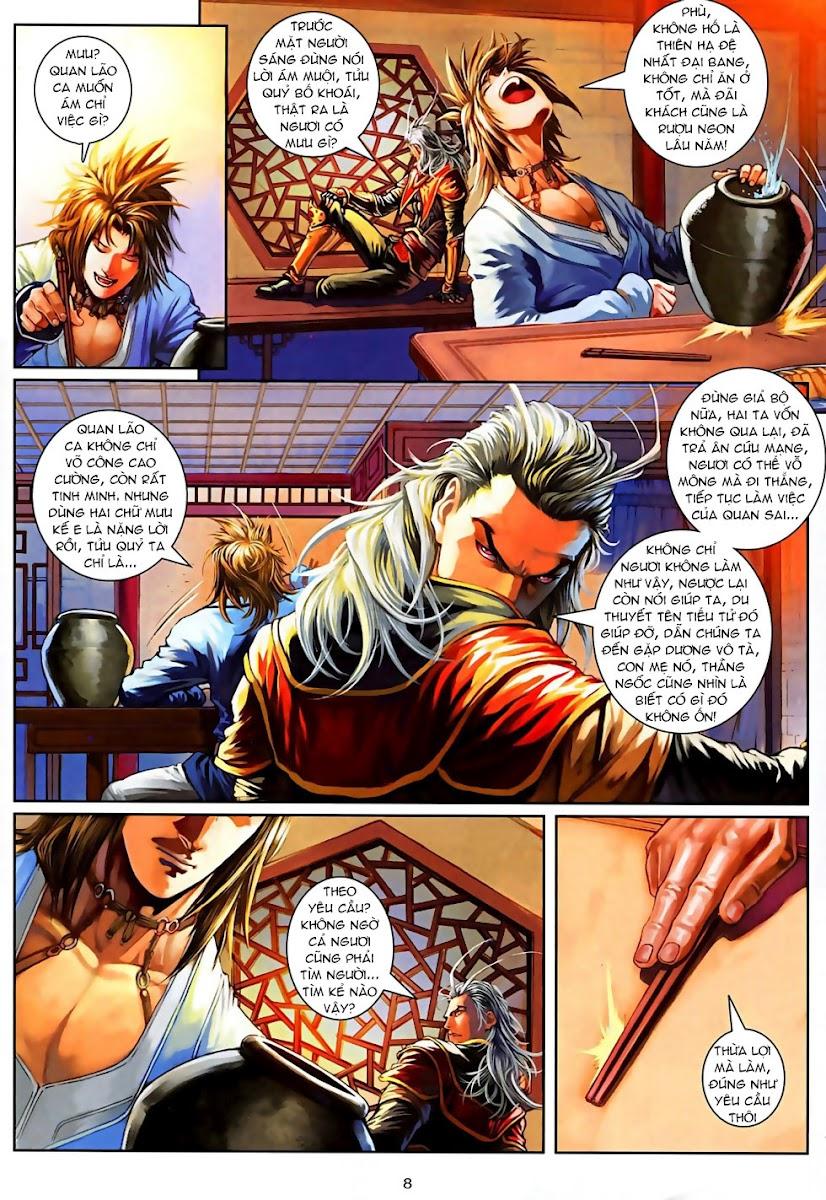 Ôn Thuỵ An Quần Hiệp Truyện Phần 2 chapter 3 trang 8