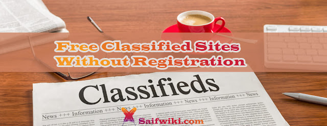 Free Classified Sites Without Registration In USA, Post Free Ads Worldwide Without Registration