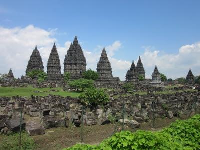Templo de Prambanan, en Yogyakarta