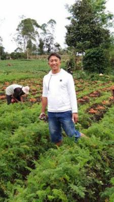 Kisah Joko Handoko Rintis Agen Sayuran Sejak Tahun 2005