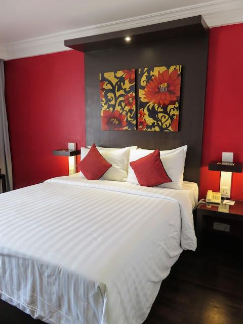 Memoire d'Angkor hotel room in Siem Reap Cambodia