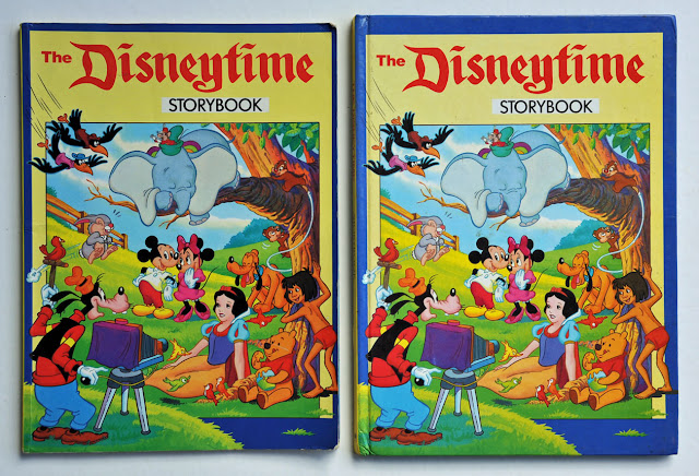 British and Australina The Disneytime Stoybook
