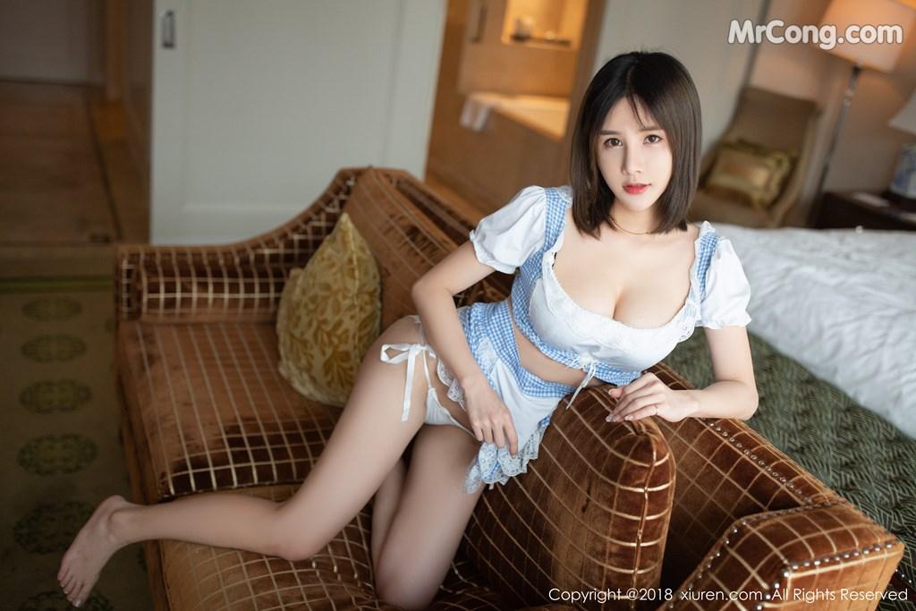 Image XIUREN-No.1261-Xiao-Mo-Lin-MrCong.com-010 in post XIUREN No.1261: Người mẫu Xiao Mo Lin (小沫琳) (41 ảnh)