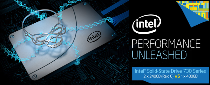 Intel Introducing Solid State Drive 730 Series For Gamers