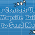 How to Create a Simple Contact Us Page on Wapka