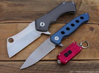 Field Cleaver, FURA titanium flipper and Nitecore TIP