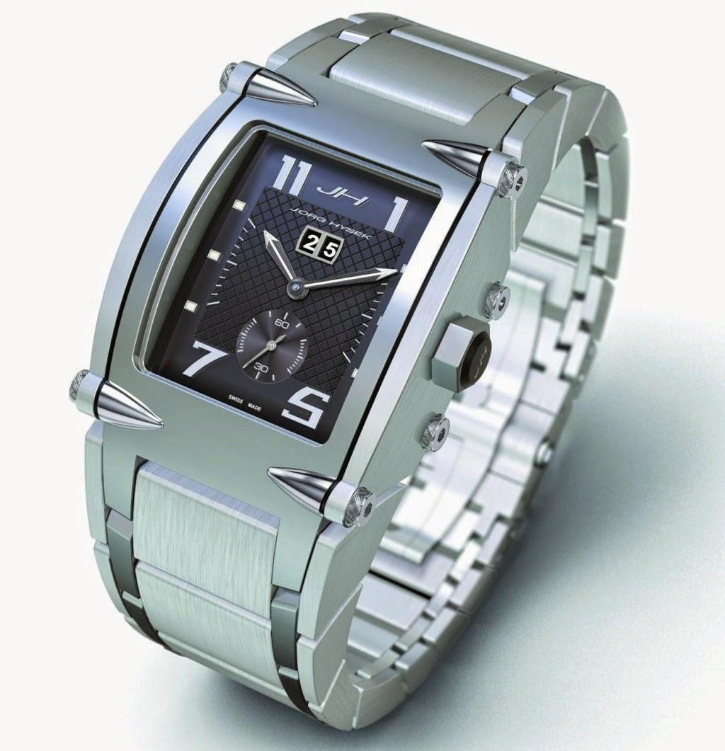 JORG HYSEK V-KING automatic watch