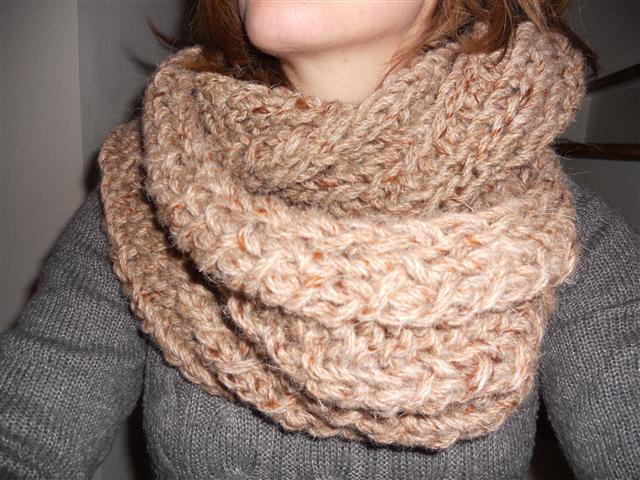 Patroon voor een ronde sjaal 5