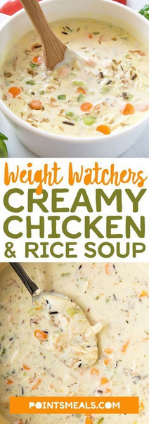 Yummy Creamy Chìcken & Rìce Soup (slow cooker)