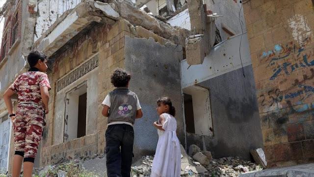 Nueva incursión saudí en Yemen deja 5 niños muertos de una familia