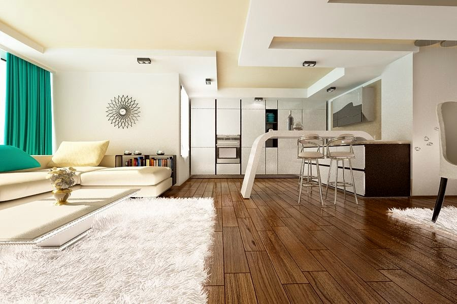 Design interior living casa moderna Constanta - Design Interior - Amenajari interioare | Design interior - Design - interior - living - casa
