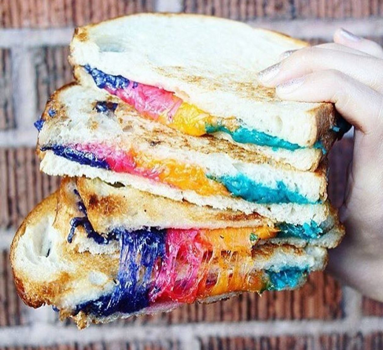 April 12 | Get These Unicorn Melts For Just A Buck @ Chomp Eatery - Santa Monica