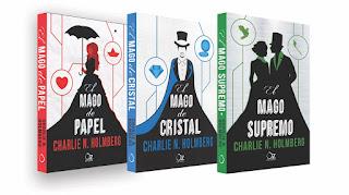 portadas trilogia el mago de papel