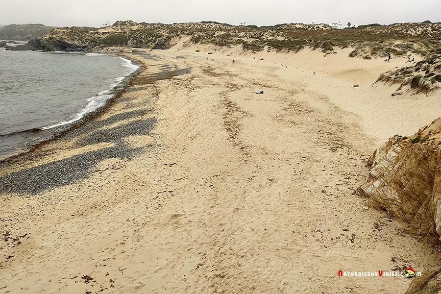 Praia do Carreiro Da Fazenda, Vila Nova Milfontes, Alentejo